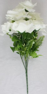 Букет роза 9гол*20шт*55см