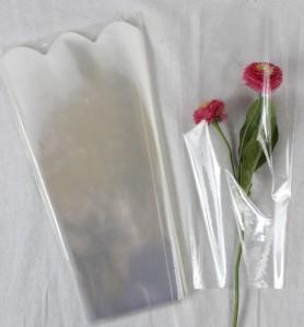 Пакет для цветка треуг-к 30*15*10см проз+проз