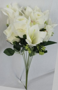 Букет роза+лилия 11гол