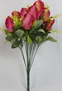 Б6803 букет роза 10гол*50см