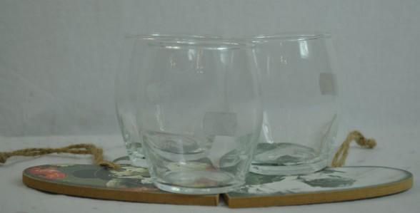 Стекло ваза-подсвечник 2983 Фликер Лайт