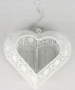 Подсвечник сердце 19*7*18см LAT-WX1178