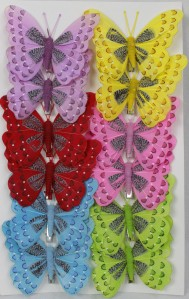 Бабочки 280-2 12см