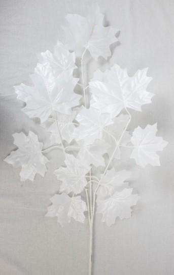 В9799 ветка белый фикус свадебный 62см*12шт