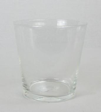 Стекло ваза-конус 2496 Рома