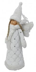 Ангелочек+лед WW0193 13*10*32см