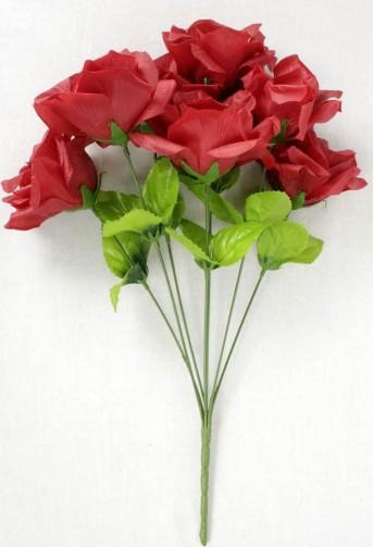 Б8096 букет роз Калина 7гол*40см*10шт