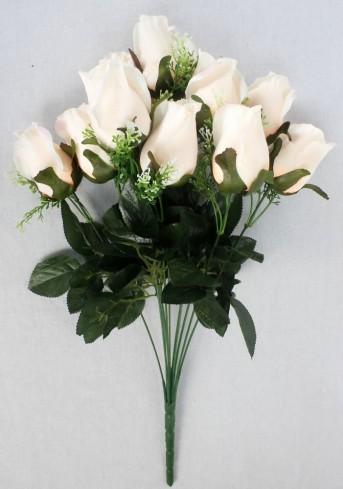 Букет роз крученый 12гол*55см 002