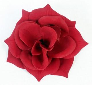Г427 гол.роза барх.Привет d16см