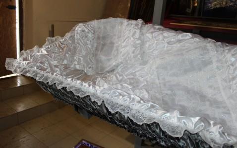 Комплект атласный оббив.+постель+покрывало