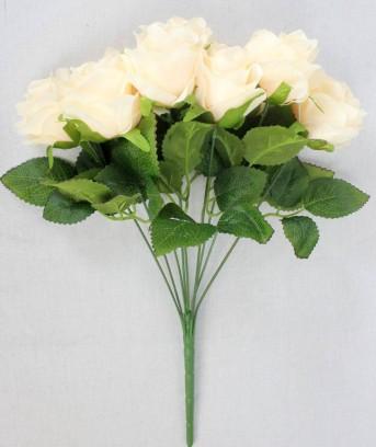 Букет роза 9гол 48