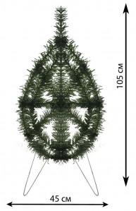 В 0,74 венок елка сред.россия
