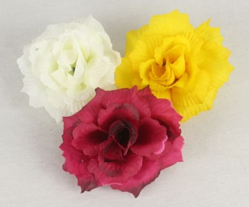 Г7202 гол.розы рифленная Зорница d12cм*20шт