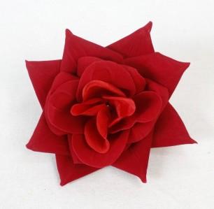 Г7819 роза бархат.Агата d18cм