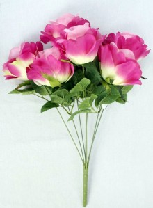 Букет роза 6гол*6шт 55