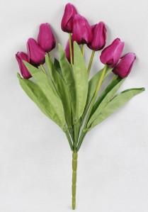 Букет тюльпанов 9гол*48см*20шт 005